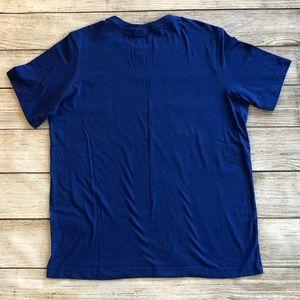 Spyder Shirts - Spyder T-Shirt 2XL XXL Blue Short sleeve Crew Tee
